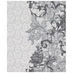 Обои 3324-14 Палитра винил на флизе 1,06*10,05м цветы, серый