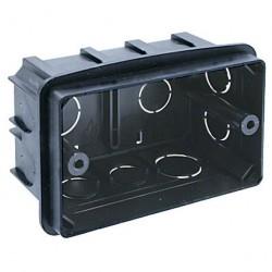 Коробка монтажная под ANAM 1-ая для сплошных стен, с крепежом 100*60*50мм PE DIY B PE 000 031