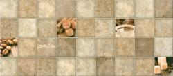 Плитка настенная Арабика-кофе 20*45 коричневая 1 сорт 135361 /73,44/
