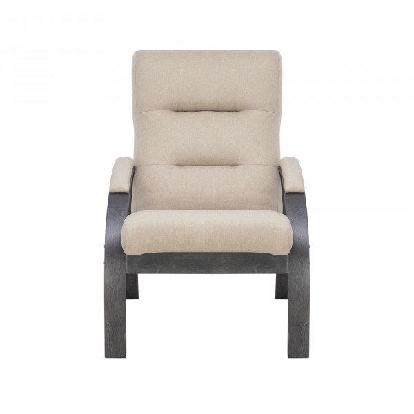кресло дизайнерское leset лион 104х80см ткань малмо05 бежевый