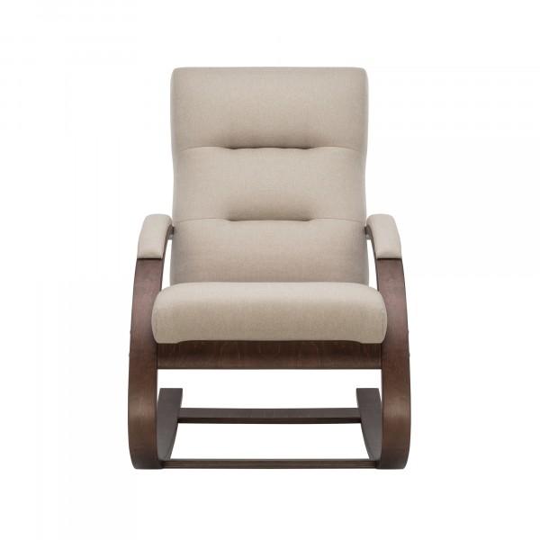 Кресло качалка Leset Милано 104х80см орех, ткань