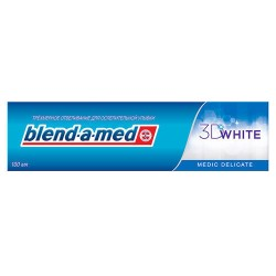З/паста BLEND-A-MED 100мл 3D White Деликатное отбеливание