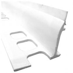 Профиль для ванной 1,85м белый 062101