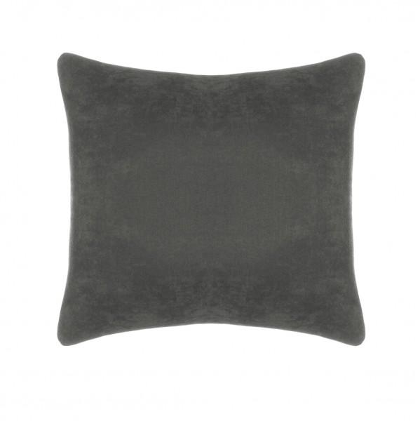 подушка декоративная пикамо 40x40 велюр коричневый п 537294 vmd340