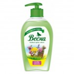 Крем-мыло жидкое Весна 280мл шалфей, крапива, чистотел