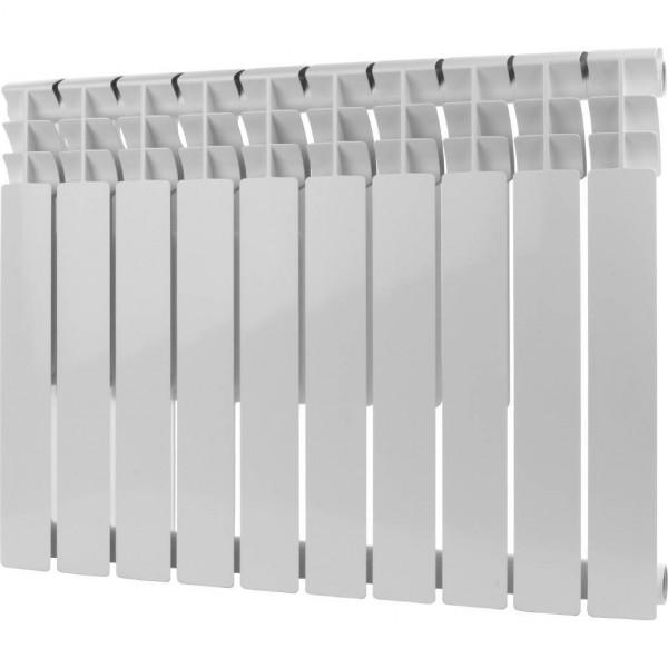 радиатор биметаллический rommer optima bm 500/78 10 секций ral9016
