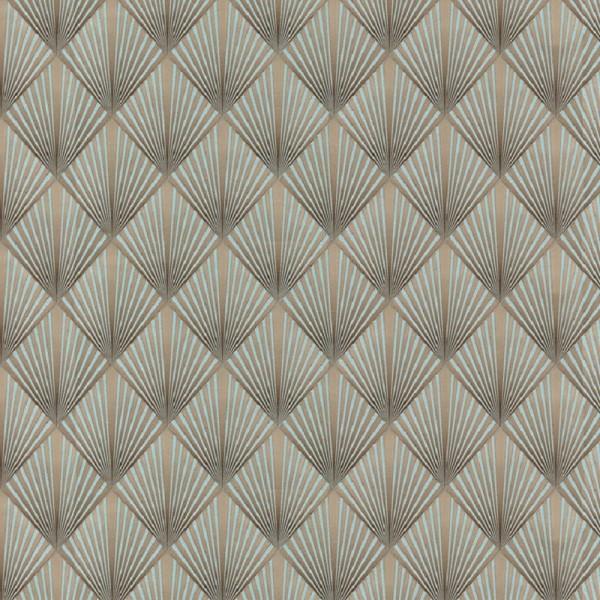 обои 75083-68 walldecor флизелин 1.06x10,06м геометрия коричневый