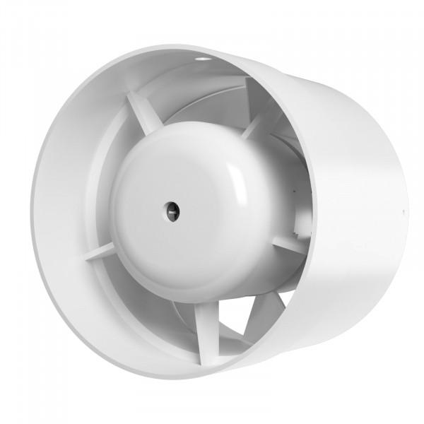 вентилятор вытяжной осевой канальный 160мм profit 6 12v низковольтный, белый, era вентилятор осевой канальный вытяжной с двигателем на шарикоподшипниках era profit 5 bb d 125