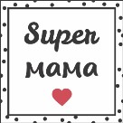 """Салфетки 33х33см """"Супер мама"""" Art Bouquet 3-слойные 37804"""