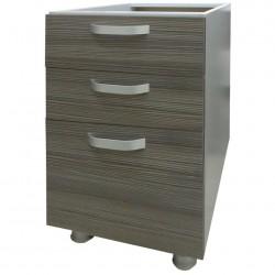 Шкаф-стол 400мм с 3-мя ящиками без столешницы/ матрикс (с-5712)