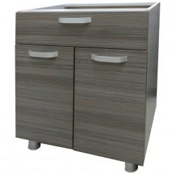 Шкаф-стол 600мм 2-х дверный с ящиком без столешницы/ матрикс (с-5758)