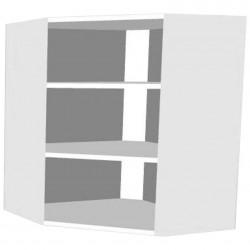 Шкаф угловой белый (0,716*0,585*0,585)