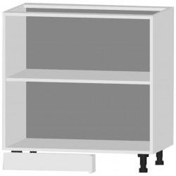 Шкаф-стол рабочий угловой СУ 800 белый