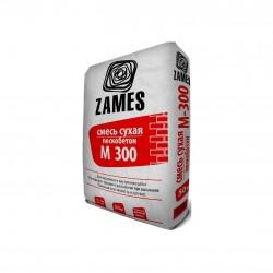 Смесь сухая цементно-песчаная Zames М300 25 кг