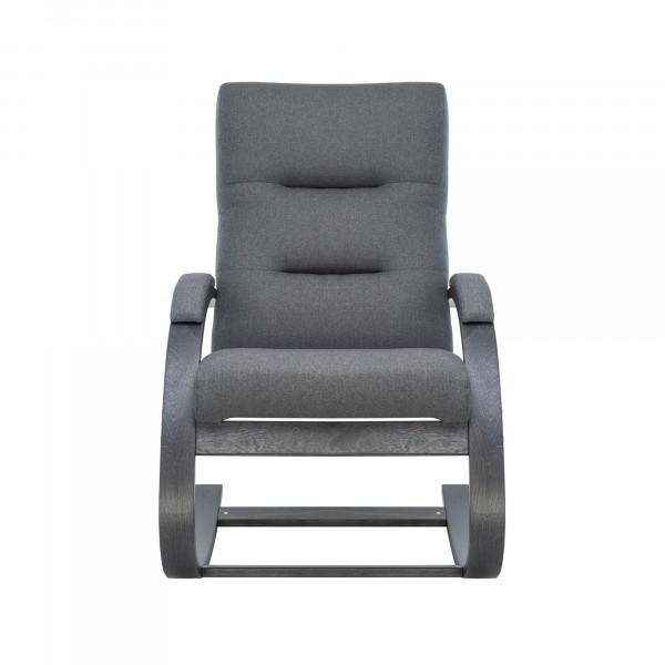 Кресло качалка Leset Милано 104х80см венге, ткань