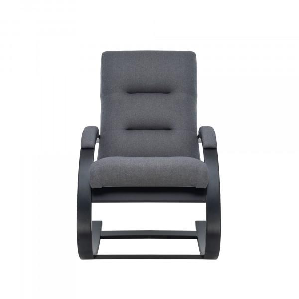 кресло-качалка leset милано 104х80см венге, ткань серый