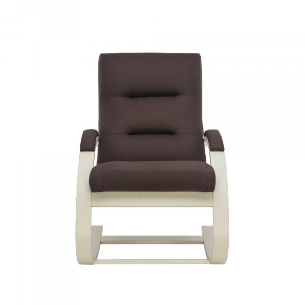 Кресло качалка Leset Милано 104х80см слоновая кость,