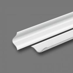 Бордюр на ванну универсальный Идеал 25мм х 2,0м 001-G Белый глянцевый