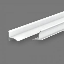 Бордюр на ванну Идеал 2,0 м. Белый 001
