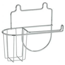 Держатель для туалетной бумаги и освежителя SLIM 27.10.42