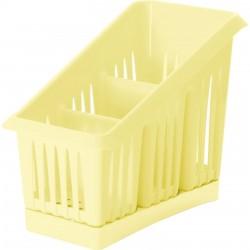 Сушилка для столовых приборов 3х-секционная Лилия Nice&price ваниль NP1564ВН-35