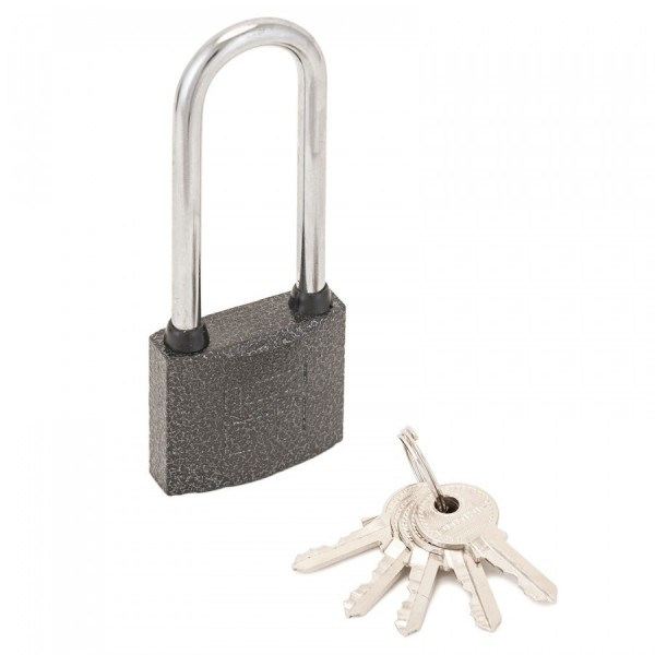Фото - замок навесной аллюр вс1ч-330д d5мм полимер 5кл. длинная дужка замок навесной защищенная дужка 60 мм matrix