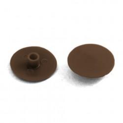 Заглушка №2 темно-коричневая /15шт/ 800776