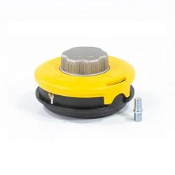 Катушка триммерная полуавтоматическая, легкая заправка лески, гайка M10x1,25, винт M10-M10, алюм.