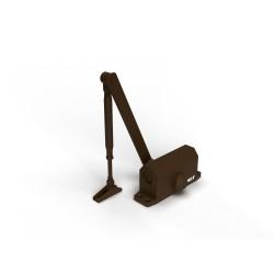 Доводчик дверной Slt 45 коричневый