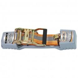 Ремень для фиксации груза 5м с крюками и храповым механизмом Automatic STELS 54365
