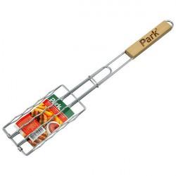 Решетка-барбекю для сосисок Park 17*8,5см, 50см RD-169