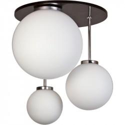Светильник потолочный Стефания-3 черн.металлик 082 Е14 40Вт Е27 2*60Вт