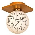 Светильник потолочный Елена 175-1 шоколад 093 Е27 60Вт