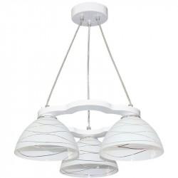 Светильник-подвес Венеция-3 белое дерево 423 Е27 3*60Вт