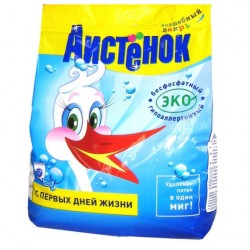 Стир.порошок АИСТЕНОК 2,4кг 600