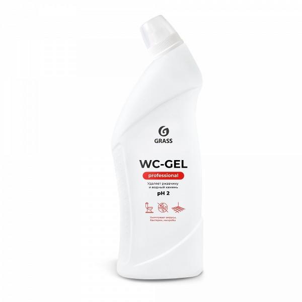 Фото - средство чистящее для сан.узлов 750мл wc-gel professional grass 125535 средство чистящее vaily для мытья пола 750мл