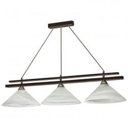 Светильник-подвес Конус-3 тик.дерево 405 Е27 3*60Вт