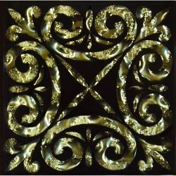 Вставка Классик Золото 6,6*6,6 Золотой