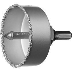 Коронка-чашка c карбид-вольфр. нанесением, 67 мм, высота 25 мм, Зубр 33360-067_z01