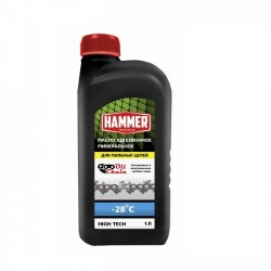Масло для пильных цепей 502-003, 1.0л Hammer 697140