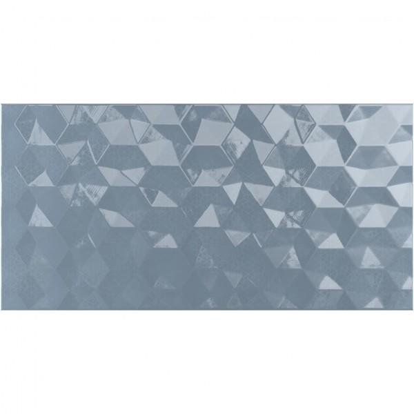 настенная плитка ницца тёмная рельеф 250*500 голубой 048783 плитка настенная ars 40х27 голубой 9as0239