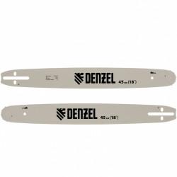 "Шина для бензопилы DGS-5218, длина 45см (18""), шаг 0,325"", паз 1,5мм, 72 звена// Denzel 59802"