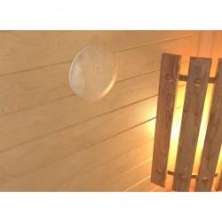 Анемостат 125мм приточно-вытяжной с фланцем (сосна), 12,5DW Pine, ЭРА