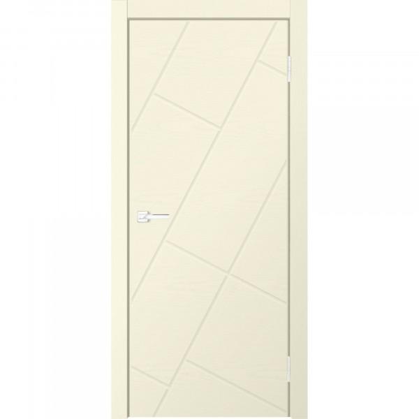 Фото - полотно дверное глухое neo 3216 2000х600мм.,пвх, цвет ясень ваниль добор плоский пвх 2070х150х10мм ясень ваниль