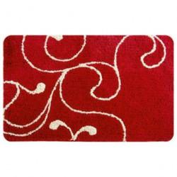 Коврик для ванной 60*90см IDDIS микрофибра, Flower Lace, red 411M690I12
