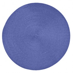 Салфетка сервировочная 38см LAVENDER BLADE синяя DM2521