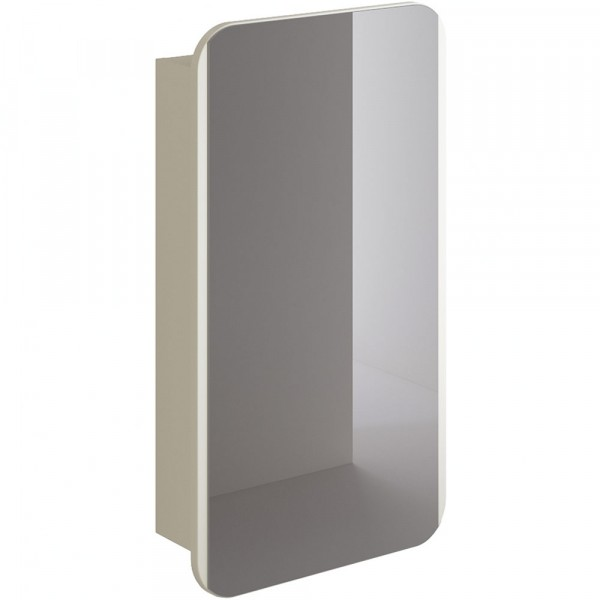 Фото - шкаф-зеркало итана prima 50 (софт крем) шкаф навесной для прачечной распашной итана 600х388х400 белый