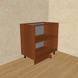 Шкаф-стол рабочий угловой СУ 800 орех