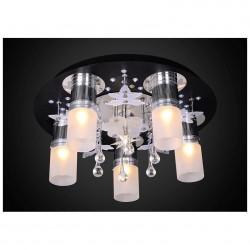 Люстра Панель 1-1103-6-CR+BK-LED Y Е27+G4