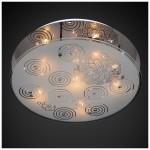 Люстра Панель 1-7030-6-CR-LED Y E14 6*40Вт